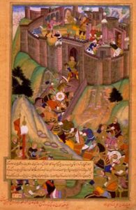 Tvrđava Alamut, persijska minijatura