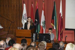 Ena Pavlović, predsednik Arapskog kulturnog centra