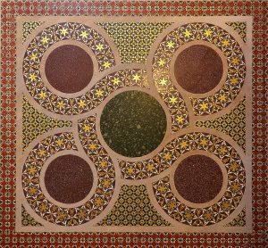 Paletina, mozaik