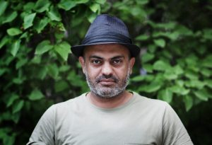 Hassan Blasim, photo by Ahmed al-Nawas