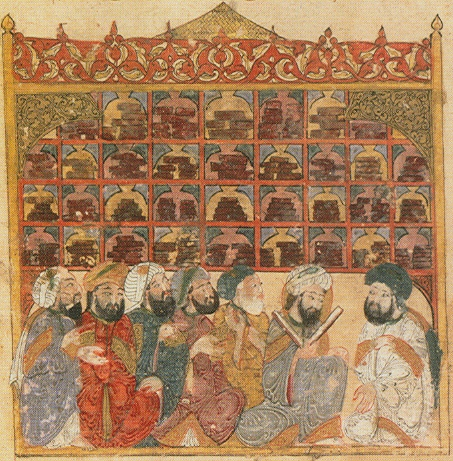 Arapski učenjaci u biblioteci (preuzeto sa https://www.1001inventions.com/)